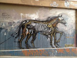 street art, artist, graffiti, graffiti, cute graffiti, dog graffiti, Melbourne, Melbourne street art, dog street art, cute dog, dog art, street art in Melbourne, visit Melbourne, street art graffiti, Hosier Lane, Hosier street art, Hosier Lane art, Hosier Lane graffiti, Hosier graffiti . Horse, or dog?, horse, horse dog, horse art, horse graffiti, horse street art